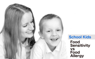 School kids: food sensitivity article