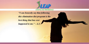 testimonial on elimination diet LEAP program