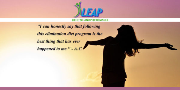 testimonial on elimination diet LEAP program