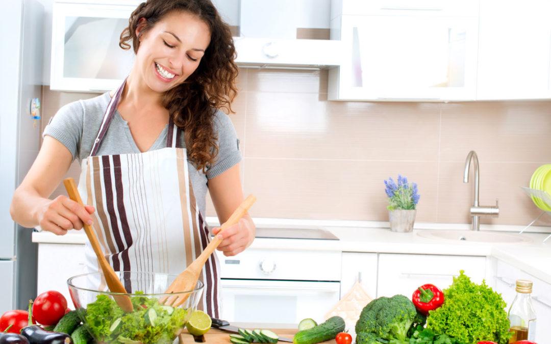 Preparing healthy diet