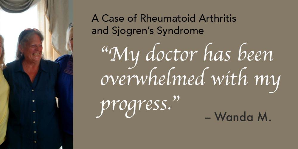 A Case of Rheumatoid Arthritis and Sjogren's Syndrome
