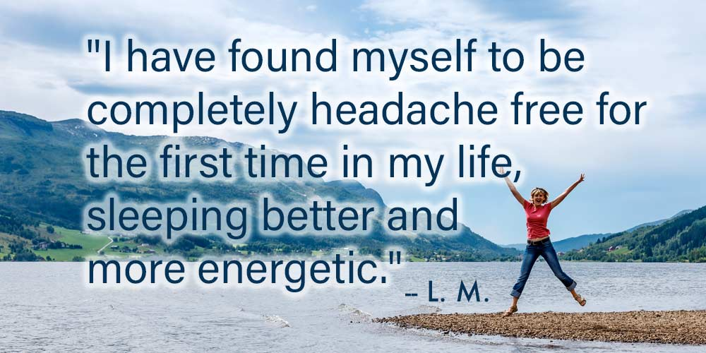 Lifelong migraines cured with LEAP