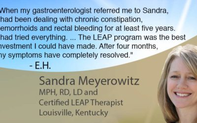 The LEAP program was the best investment I could have made. After four months, my symptoms have completely resolved.