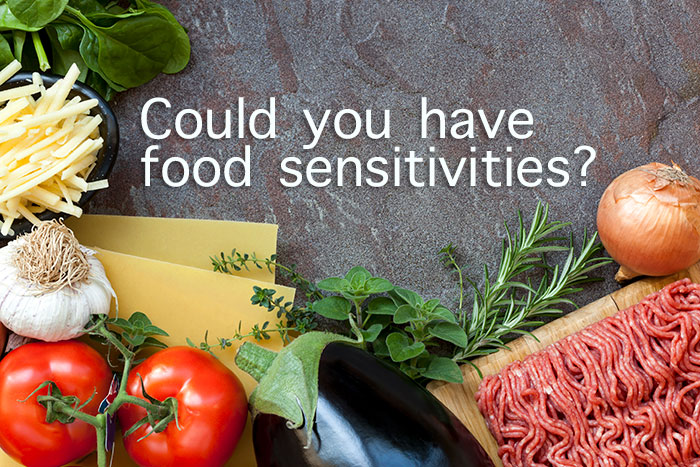 Could you have a food sensitivity problem?